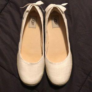 Ugg Australia Indah Canvas Ballet Flat 8.5